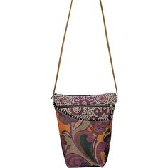 Click Image Above To Purchase: Maruca Design City Girl Botanic Rust - Maruca Design Fabric Handbags