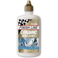Finish Line Ceramic Wax lube 2 oz / 60 ml bottle Ceramic Wax runs totally clean and lasts longer than conventional wax lubricants! So advanced is this lubricant that the technology is patented Nano-sized platelets of ceramic Boron Nitride and Advanc http://www.MightGet.com/february-2017-1/finish-line-ceramic-wax-lube-2-oz--60-ml-bottle.asp