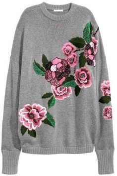 Embroidered Sweater by H&M on ShopStyle.