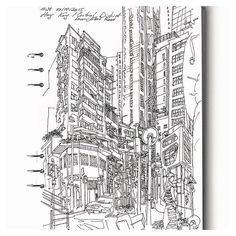 { hong kong central district } // awesome urban sketch by @andetten  #iArchitectures #architecture #archilovers #arquitectura #architettura #architectural #architects #architecturestudent #architecturemodel #architectureschool #sketch #rendering #handrender #doodle #drawing #art #modelmaking #maquette #maqueta