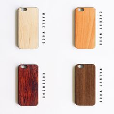 Real Natural Wood Iphone 6 6 case Maple wooden by Mandallion
