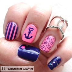 Lacquered Lawyer | Nail Art Blog: Loves Me, Loves Me Knot