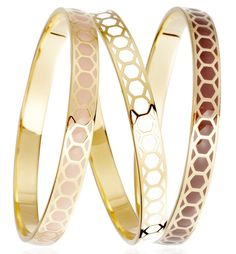 The Domino Effect... you can't have just one #AstleyClarke #Colour #Collection #Honeycomb #Bangle #Jewellery