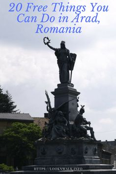 There are quite a lot of free things to do in Arad, making this lovely city in Western Romania an affordable place to visit. Travel Tips For Europe, Travel Ideas, Romania Travel, Port Arthur, Local Police, Free Things To Do, End Of Summer, Walking Tour, You Can Do