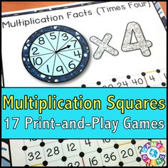"""We've """"Mathified"""" The Squares Game! – Games 4 Gains"""