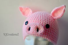Pig Hat Photography prop