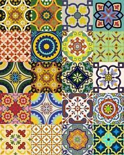 Backsplash tile Vinyl Set of 24 Kitchen Tile Decal DIY Sticker Bathroom Decor C