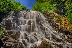 Twin Lakes Falls, Mammoth Lakes, CA