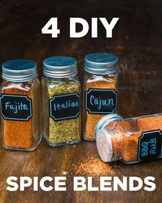 4 DIY Spice Blends by Tasty