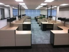 Used Herman Miller office cubicles are the perfect solution for bootstrapped start-ups that don't want to invest too much in a new office fit-out. Used office cubicles of leading brands such as Herman Miller offer great value for money.  #cubicles, #usedcubicles, #officecubicles, #hemanmillercubicles