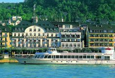Beautiful BEST WESTERN PREMIER Bellevue Rheinhotel, Boppard, at the river Rhine.  #bestwestern #bwtravel #rhine