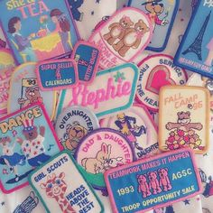 new girl in town Cute Patches, Pin And Patches, Teen Witch, 80s Aesthetic, Aesthetic Pastel, Phineas And Ferb, Up Girl, Stickers, Vaporwave
