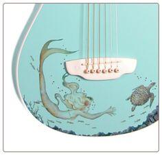 Luna Mermaid Guitar