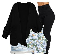 """Untitled #1149"" by shyannelove123 ❤ liked on Polyvore featuring Chicnova Fashion, Vans, women's clothing, women's fashion, women, female, woman, misses and juniors"