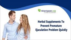You can find more about NF Cure and Vital M-40 capsules at www.nfcurecapsule... Dear friend, in this video we are going to discuss about herbal supplements to prevent premature ejaculation problem quickly. If you liked this video, then please subscribe to our YouTube Channel to get updates of other useful health video tutorials. #vitamins #instafollow #vitaminB #F4F