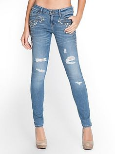 138e8aa1aa86a7 15 Best Jeans images in 2013 | Guess jeans, Denim leggings, Pants