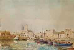 Alphonse Rey (1865- /1938) Titre « L'Amirauté d'Alger »