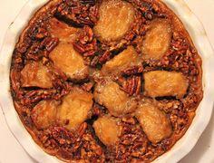 Pecan apple pie