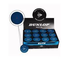 Doubles Hard Ball - Blue Red Dot - Squash Balls - Dunlop