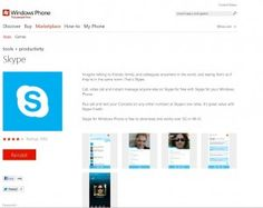 Chat away – Skype for Windows Phone now available