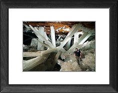 Cave of Crystals, Naica Mine, Mexico as Photographic Prints, Framed and Canvas Prints from Science Photo Library