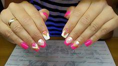 #nails #nailart #summernails #handpaintingdesign #beautymakesyouhappy