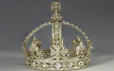 Queen Victoria's Small Diamond Crown contains 1,187 diamonds