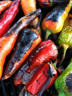 How to Roast Chile Peppers