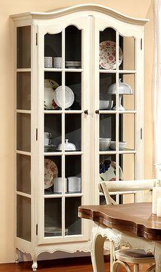 Garrett Glass Cabinet, Espresso Stain | Pinterest | China Cabinets,  Espresso And China