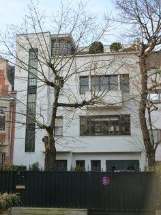 Boulogne-Billancourt, villa Collinet (R.Mallet-Stevens architecte 1926).