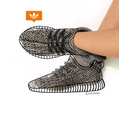 0e9bb5ce1a67 Sneakers Femme - Adidas Yeezy Boost 350 Fashion Tips
