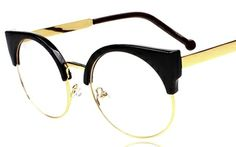 Glasess Black/Gold at HelloShoppers