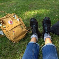 I spy my backpack