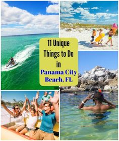 11 Unique Things to do in Panama City Beach, FL - Finding Debra Panama City Beach Florida, Florida Travel, Panama City Panama, Destin Beach, Florida Vacation, Florida Beaches, Beach Trip, Beach Fun, Travel Usa