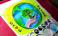 Environment day pictures to draw image how to draw save nature / save environment poster drawing for kids . Save Environment Poster Drawing, Save Environment Posters, Environment Day, Nature Drawing For Kids, Earth Day Drawing, Save Nature, Back To Nature, Creative Posters, Cool Posters