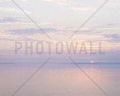 Light Pink Sea - Fototapeten & Tapeten - Photowall