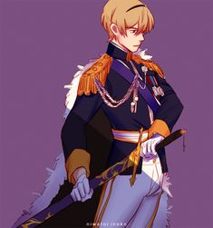 (Yes, I am aware that this is Leo from FE:Fates, in a different wardrobe) Fire Emblem Games, Fire Emblem Characters, Witch House, Best Waifu, Fes, Fan Art, Anime, Drawing, Video Game