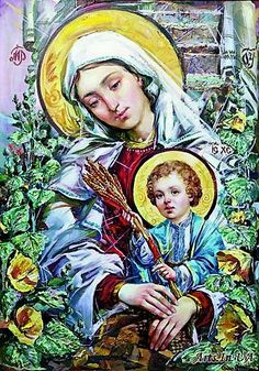 Mary Mother of God Jesus And Mary Pictures, Images Of Mary, I Love You Mother, Mother And Child, Blessed Mother Mary, Blessed Virgin Mary, Religious Photos, Religious Art, White Jesus