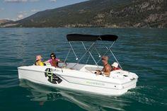 New 2012 Campion Boats i4 Infinyte Power Catamaran Boat with Bimini Top