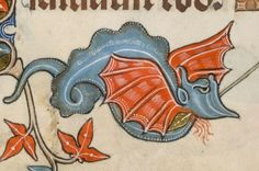 Detail from The Luttrell Psalter, British Library Add MS 42130 (medieval manuscript,1325-1340), f83v