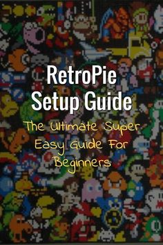 This is a step by step guide to creating your first retro gaming console using RetroPie. This RetroPie setup guide is written for people with very little programming knowledge and experience. If you (Step Children For Kids) Retropie Arcade, Bartop Arcade, Arcade Games, Arcade Room, Diy Arcade Cabinet, Arcade Console, Retro Pi, Computer Projects, Electronics Projects