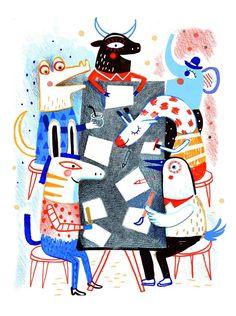 Mariana Ruiz Johnson illustration