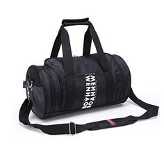WENHAO Travel Small Duffel Sports Gym Luggage Bag Small Black    Visit the  image link dcd31dbb80b30