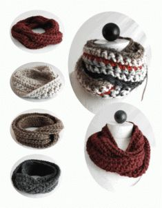 30-Minute Infinity Scarves