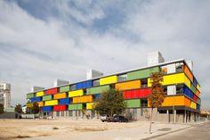 Apartment Building in Carabanchel, Madrid   Architecture   Wallpaper* Magazine: design, interiors, architecture, fashion, art