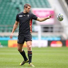 "There's those jedi powers again.:: Daniel ""Dan"" Biggar :: #iamwales #rwc #rugby #wales #webeattheenglish"