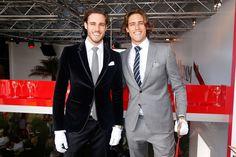 Jordan and Zac Stenmark - loving the white gloves gents.