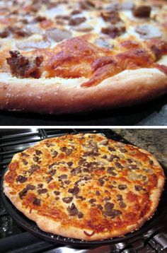 Weeknight Pizza Dough - seriously so yum and so easy.  I added spices to the dough