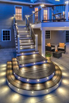 Professional Building Services curved stairs