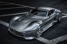 Mercedes AMG Vision Gran Turismo by Mercedes DEsign Studio, California